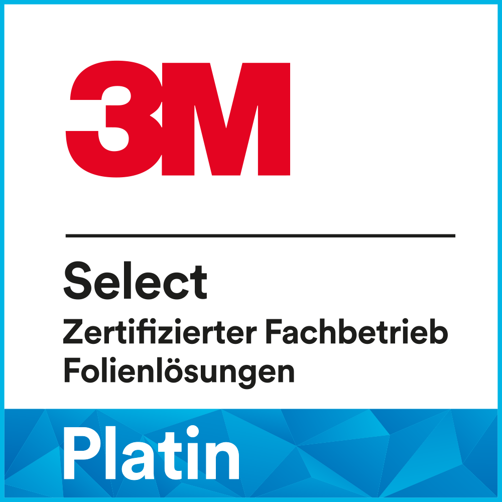 3M Select zertifizierter Fachbetrieb Platin